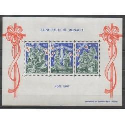 Monaco - Blocs et feuillets - 1982 - No BF23 - Noël
