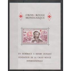 Monaco - Blocs et feuillets - 1978 - No BF15 - Santé ou Croix-Rouge