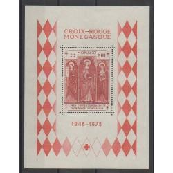 Monaco - Blocs et feuillets - 1973 - No BF7 - Santé ou Croix-Rouge