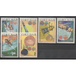 Vietnam - 1980 - No 245/250 - Espace
