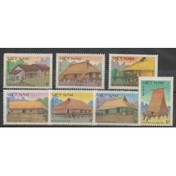 Vietnam - 1986 - No 701/707 - Monuments