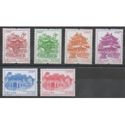 Vietnam - 2012 - No 2394/2399 - Monuments