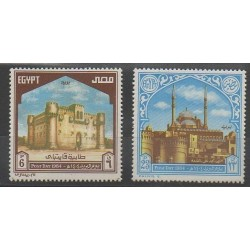 Égypte - 1984 - No 1228/1229 - Monuments