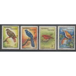Madagascar - 1963 - Nb 380/383 - Birds