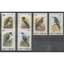 Roumanie - 1983 - No 3450/3455 - Oiseaux