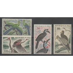 Mali - 1965 - Nb PA25/PA28 - Birds - Mint hinged