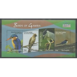 Gambie - 2009 - No 4926/4929 - Oiseaux