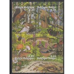 Belgique - 2004 - No BF105 - Champignons - Oiseaux