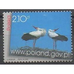 Pologne - 2003 - No 3829 - Oiseaux