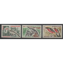 Niger - 1967 - No 190/192 - Oiseaux