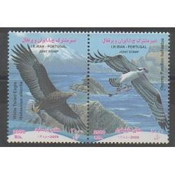 Iran - 2009 - Nb 2837/2838 - Birds