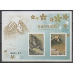 Japon - 2015 - No BF198ND - Oiseaux - Sites