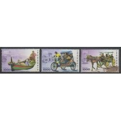 Indonésie - 2001 - No 1894/1896 - Transports