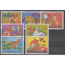 Hongrie - 1982 - No 2833/2839 - Dessins Animés - BD