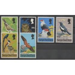 Seychelles - 1972 - No 293/298 - Oiseaux