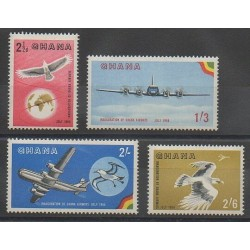 Ghana - 1958 - No PA1/PA4 - Aviation - Oiseaux