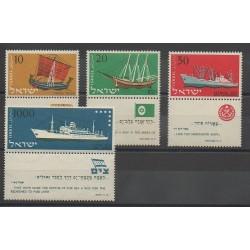 Israel - 1958 - Nb 134/137 - Boats