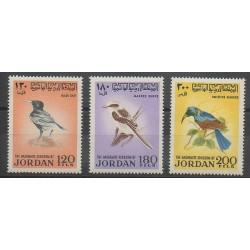 Jordanie - 1970 - No 675/677 - Oiseaux