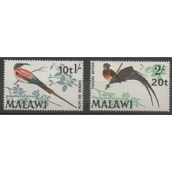 Malawi - 1970 - No 132/133 - Oiseaux
