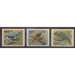 Niue - 1971 - No 125/127 - Oiseaux
