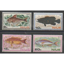 Niue - 1973 - No 142/145 - Animaux marins