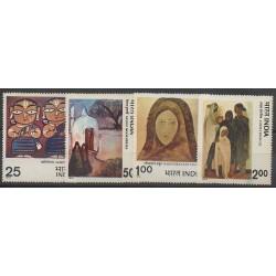 Inde - 1978 - No 551/554 - Peinture
