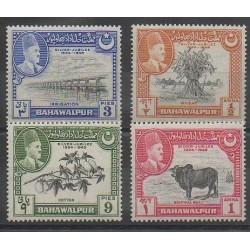 India - 1949 - Nb 18/21 - Flora
