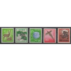 Japan - 1971 - Nb 1033/1037