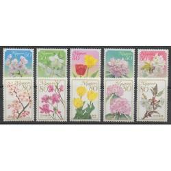 Japon - 2009 - No 4599/4608 - Fleurs