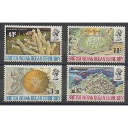 Océan Indien - 1972 - No 44/47 - Animaux marins