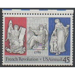 United States - 1989 - Nb PA114 - French Revolution