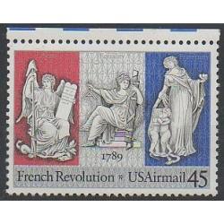 États-Unis - 1989 - No PA114 - Révolution Française