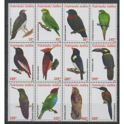 Antilles néerlandaises - 2009 - No 1855/1866 - Oiseaux