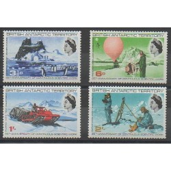 British Antarctic Territory - 1969 - Nb 21/24 - Polar regions