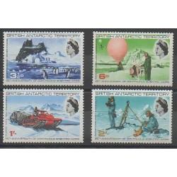 Grande-Bretagne - Territoire antarctique - 1969 - No 21/24 - Régions polaires