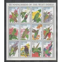 Nevis - 1995 - No 827/838 - Oiseaux
