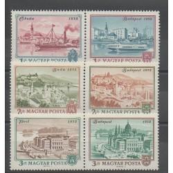 Hongrie - 1972 - No 2265/2270 - Monuments