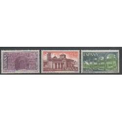 Spain - 1970 - Nb 1660/1662 - Churches
