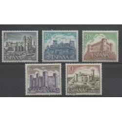 Espagne - 1970 - No 1632/1636 - Monuments