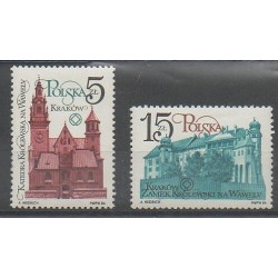 Pologne - 1984 - No 2764/2765 - Monuments