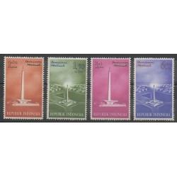 Indonésie - 1962 - No 310/313 - Monuments