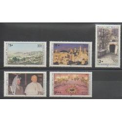 Palestine - 1995 - No 34/38 - Noël - Papauté