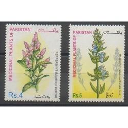 Pakistan - 2001 - Nb 1063-1065 - Flowers