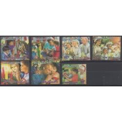 Nouvelle-Zélande - 1994 - No 1319/1325 - Noël