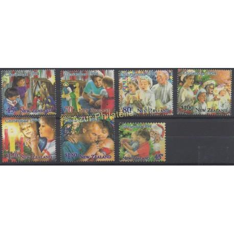 New Zealand - 1994 - Nb 1319/1325 - Christmas