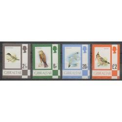 Gibraltar - 1977 - No 351-355-359-363 - Oiseaux