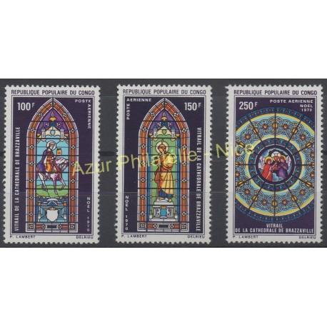 Congo (Republic of) - 1970 - Nb PA 105/ PA 107 - Christmas
