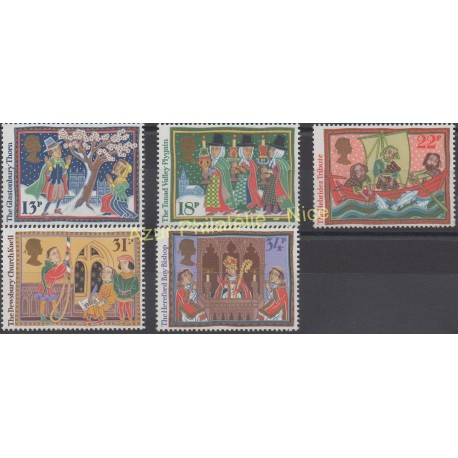 Great Britain - 1986 - Nb 1247/1251 - Christmas