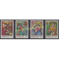 Burkina Faso - 1988 - No 796/799 - Noël