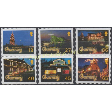 Guernsey - 2001 - Nb 917/922 - Christmas